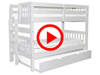 Features Video for the BK906EL Twin over Twin Bunk Bed