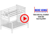 Bedz King BK961 Twin over Full Bunk Bed Video