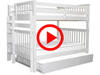 Features Video for the BK981EL Full over Full Bunk Bed with Full Trundle