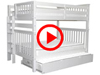 Features Video for the BK981EL Full over Full Bunk Bed with Trundle