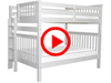 Features Video for the BK981EL Full over Full Bunk Bed with Under Bed Drawers